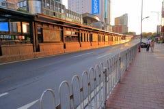 Guangzhou jaskrawa stacja w ranku Zdjęcia Stock