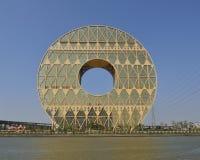 Guangzhou-Kreisgebäude Stockbild