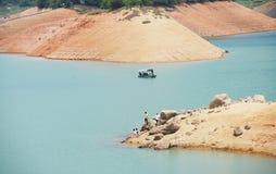 The Guangzhou lake. A lake reservoir with clear water in Guangzhou,Guangdong,China Stock Photo