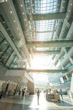 Guangzhou library is a modern building in guangzhou china. Stock Photos