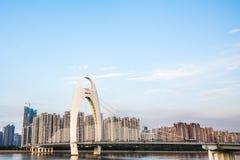 Guangzhou Liede Bridge Stock Photography