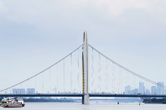 Guangzhou Liede Bridge Royalty Free Stock Photography