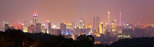 guangzhou linia horyzontu Zdjęcia Royalty Free