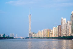 guangzhou linia horyzontu Fotografia Royalty Free