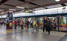 Guangzhou-Metro China Lizenzfreies Stockfoto