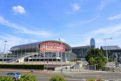 Guangzhou międzynarodowa konwencja i powystawowy centrum fotografia stock