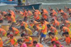 Guangzhou Międzynarodowego smoka Łódkowaty Zachęcający turniej Obraz Royalty Free