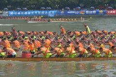 Guangzhou Międzynarodowego smoka Łódkowaty Zachęcający turniej Zdjęcie Stock