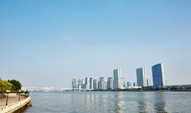 Guangzhou miasta linia horyzontu Zdjęcia Stock