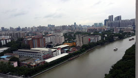 Guangzhou miasto panorama1 Fotografia Royalty Free