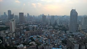 Guangzhou miastowa linia horyzontu Zdjęcia Royalty Free