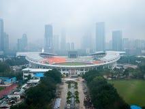 Guangzhou-Mittellinie stockfotografie