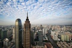 Guangzhou moln royaltyfria foton