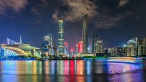 Guangzhou, neue Stadt Zhujiang Stockfotos