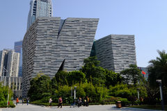 Guangzhou New Library Stock Photography