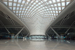 Guangzhou - new railway station Stock Image