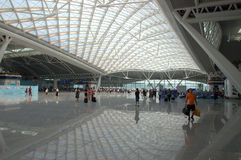 Guangzhou - new railway station Royalty Free Stock Images