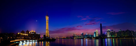 Guangzhou New TV tower Royalty Free Stock Photography
