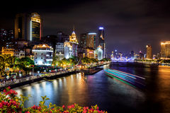 Guangzhou next night Stock Photography