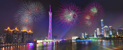 Guangzhou night Stock Photos