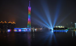 Guangzhou night scenic Royalty Free Stock Photos