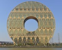 Guangzhou okręgu budynek Obraz Stock