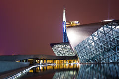 Guangzhou Opera House Stock Photography