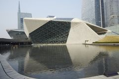 Guangzhou Opera House, China royalty free stock photos
