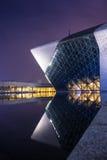 Guangzhou opera house construction stock photos
