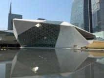 Guangzhou Opera House landscape Royalty Free Stock Images