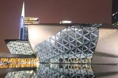 Guangzhou Opera House at night Royalty Free Stock Photo