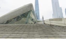 Guangzhou opera w Guangzhou, Chiny zdjęcia stock