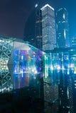 Guangzhou operahus i Kina Arkivbild