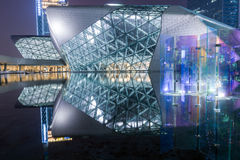Guangzhou-Opernhaus in China Lizenzfreies Stockfoto