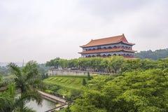 Guangzhou Panyu Lotus Mountain Scenic Royaltyfri Foto