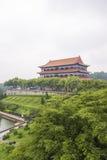 Guangzhou Panyu Lotus Mountain Scenic Imagenes de archivo