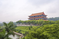 Guangzhou Panyu Lotus Mountain Scenic Royalty Free Stock Photo