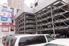 Guangzhou parking lots Royalty Free Stock Photos
