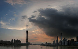 Guangzhou Pearl River Royalty Free Stock Photography