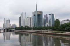 Guangzhou and Pearl river, China Stock Photos