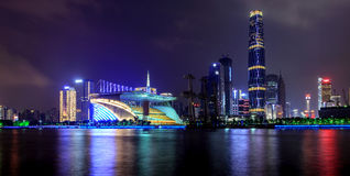 Guangzhou Pearl River New City Royalty Free Stock Photography