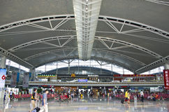 Guangzhou Południowa stacja kolejowa w Chiny Zdjęcie Royalty Free
