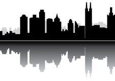 Guangzhou-Porzellan-Skyline Lizenzfreie Stockfotos