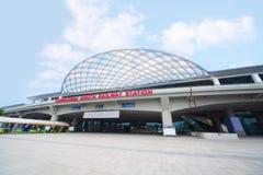 Guangzhou posterar den södra järnvägen Arkivbild
