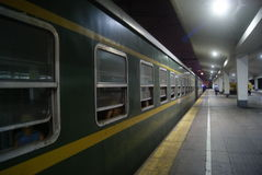 Guangzhou Railway Station at night Stock Photos