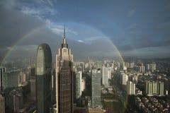 Guangzhou regnbåge Arkivfoton