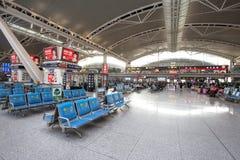 Guangzhou södra järnvägsstation Royaltyfri Foto