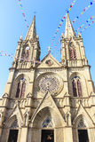 Guangzhou Sacred Heart Church Royalty Free Stock Photography