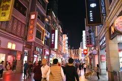 Guangzhou - Shang Xia Jiu Pedestrian Street Stock Image