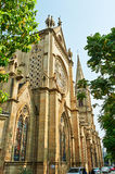 Guangzhou Shishi Sacred Heart of Jesus Cathedral Stock Photo